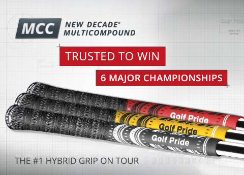 Trusted To Win 6 Major Championships. The #1 Hybrid Grip On Tour